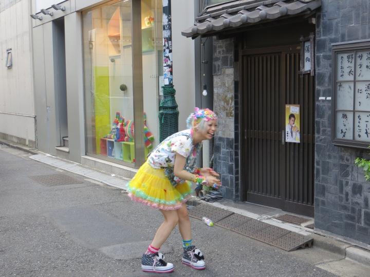 Harajuku harajuku takeshita street girl