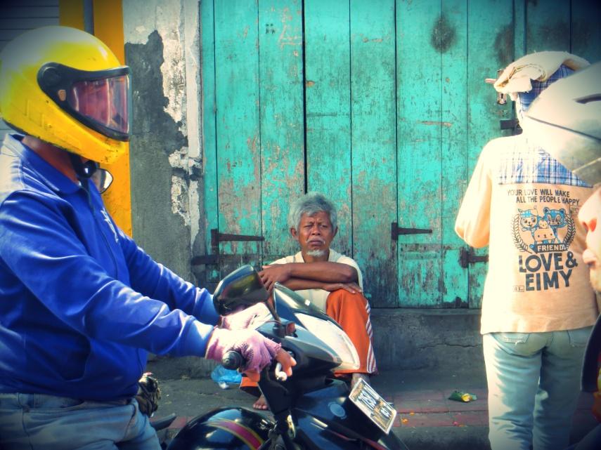 Denpasar street bali indonesia