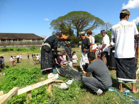 ngaben bali cremation ceremony  denpasar