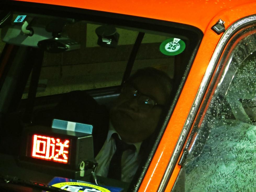 taxi driver tokyo