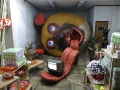 Ishizuka Takanori, Untitled, soft sculpture made using recycled mattress