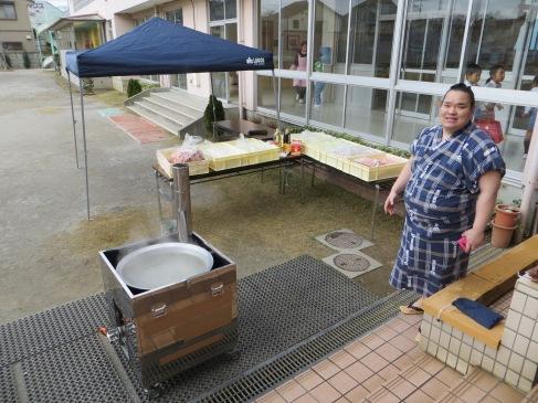 sumo kindergarten teaching japan