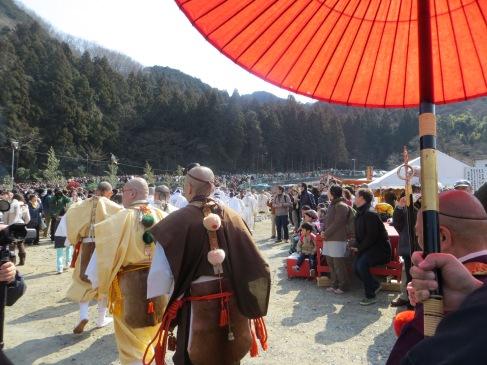 Hiwatari Matsuri: Mount Takao Fire-Walking Festival, Tokyo