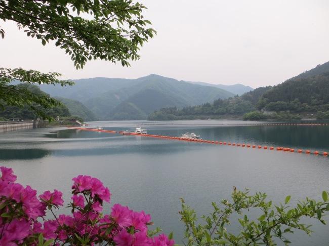 okutama lake  tokyo hiking