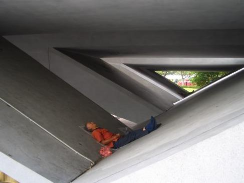 People sleep geometrically in Singapore