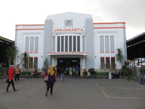 Train from Yogyakarta to Surabaya