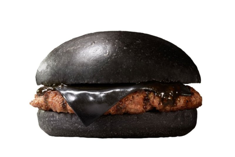 Black cheeseburger burger king japan