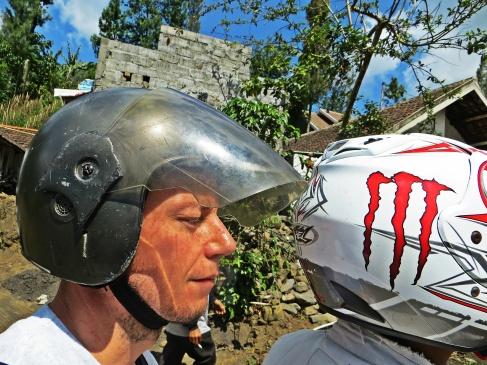 motorbike to mont bromo