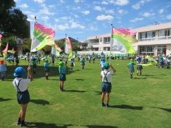 undokai tokyo marching japanese kindergarten