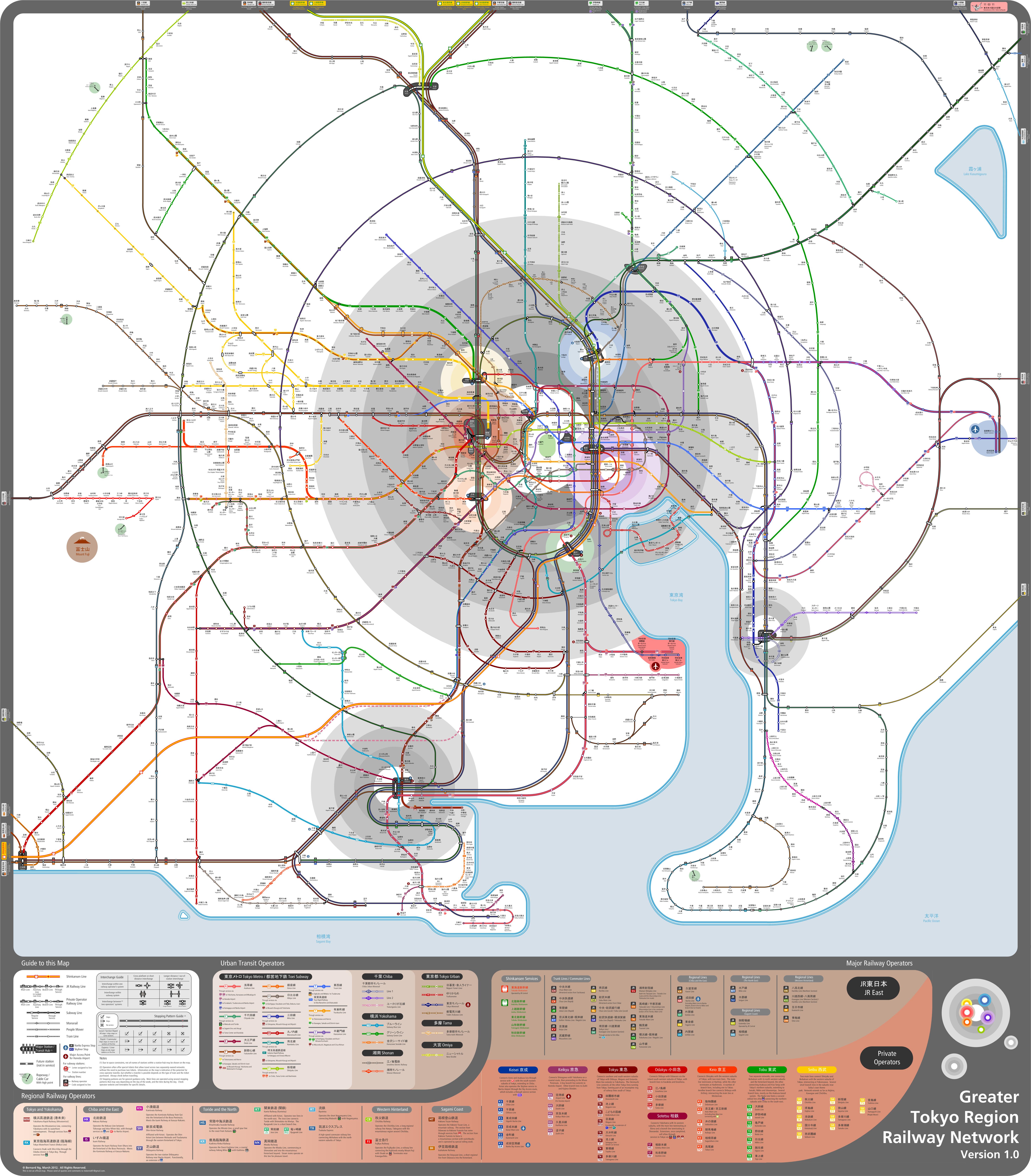 Subway Map Tokyo English.Tokyo Train And Subway Guide