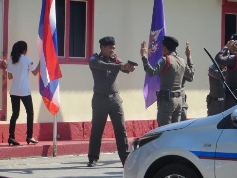 hua hin thailand police