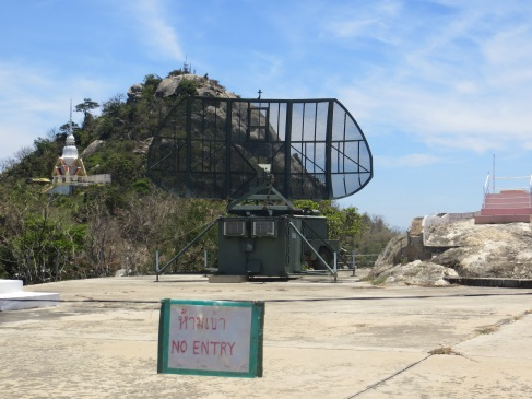 monkey mountain radar hua hin military