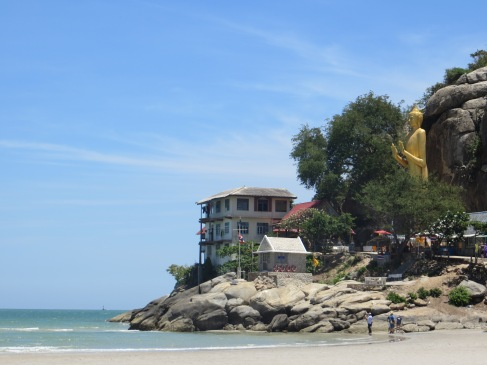 The base of Khao Takiab, Hua HIn.