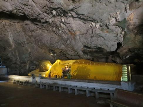 Khao Luang Cave Temple. Phetchaburi, Thailand.