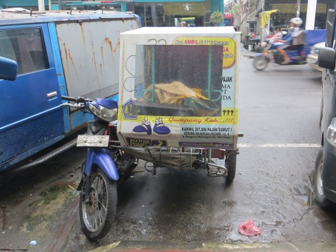 becak rickshaw medan sumatra