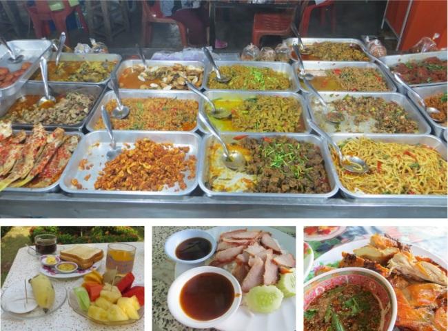 Phetchaburi, Thailand night market