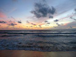 negombo sri lanka sunset