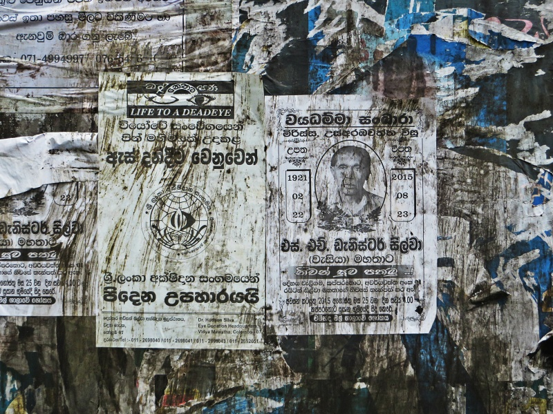 sri lankan death notices