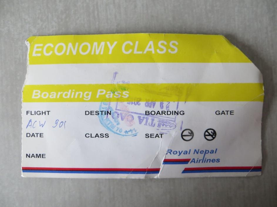 kathmandu relief flight evacuation
