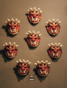 Bhutanese-masks-skulls