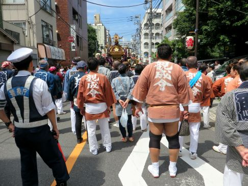Yushima Grand Tenjin Festival 2016 Tokyo matsuri