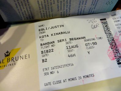 Royal Brunei Airlines - amazing!