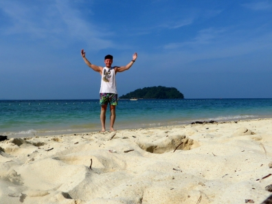 Chilling on Manukan Island, Sabah