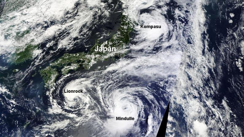 typhoon japan