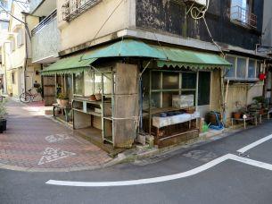 Run-down shop in the suburbs