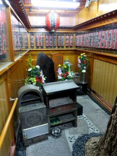 Small shrine tucked away down an alleyway