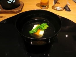 Hamaguri clam shell soup
