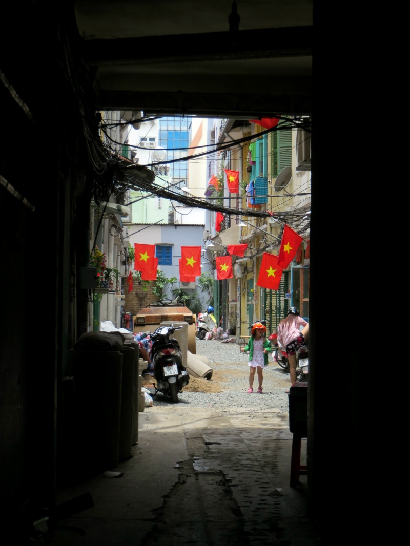 Cute alleyway, Saigon