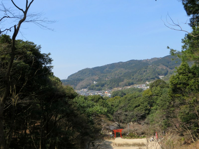 Dazaifu mountains