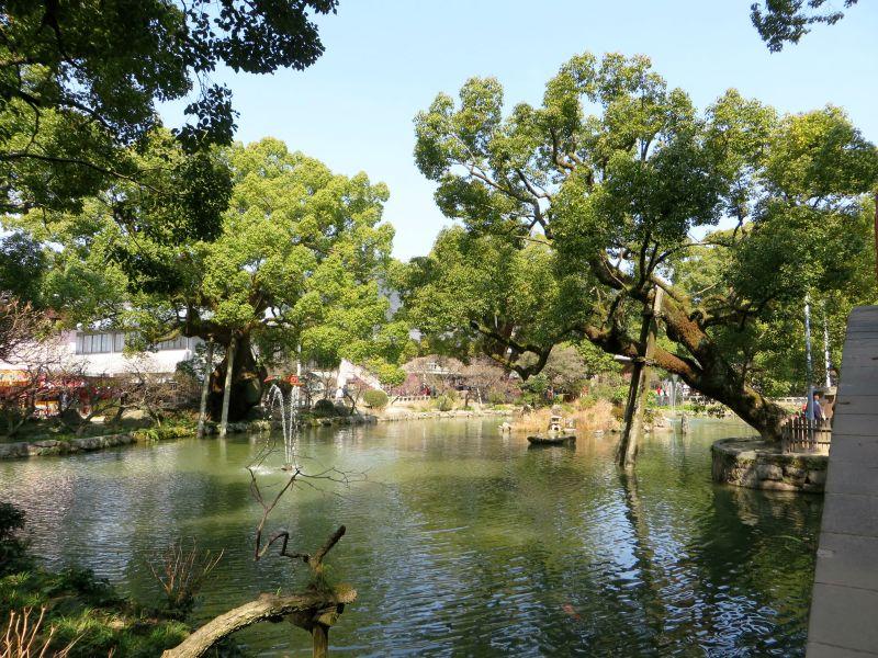Dazaifu pond