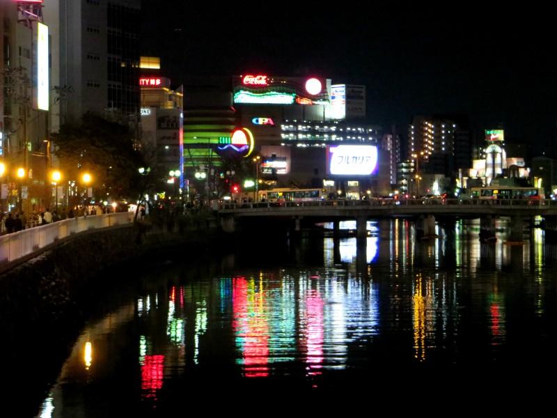Fukuoka Nakasu reflections 3