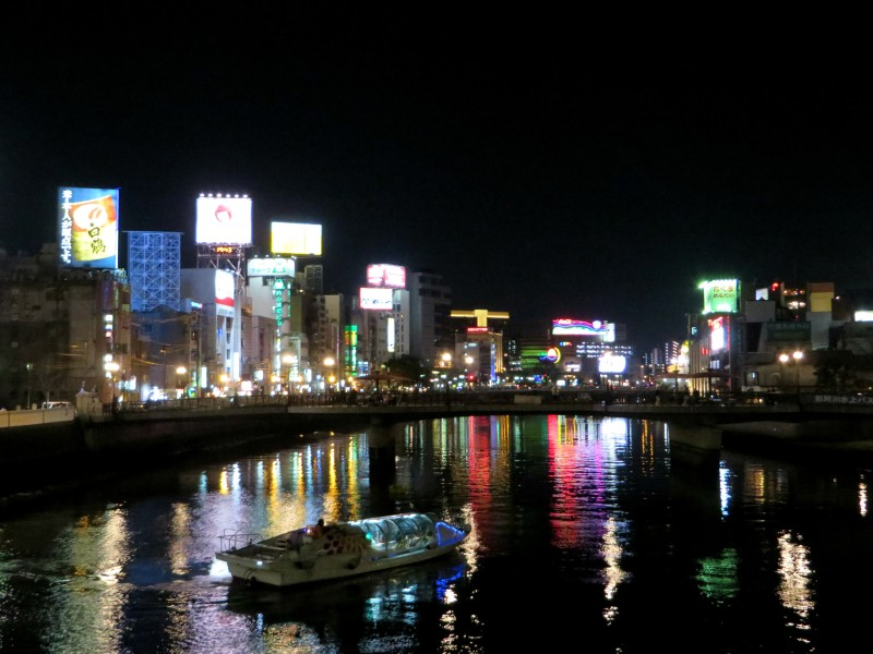 Fukuoka Nakasu reflections