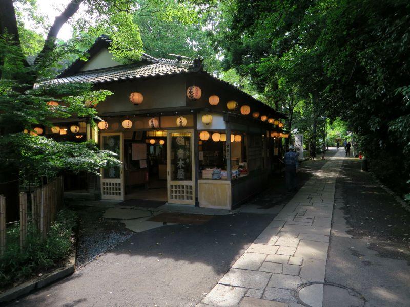 Jindaiji Soba lanterns