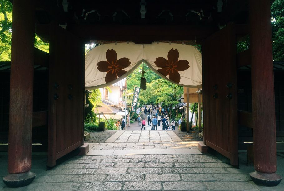 Jindaiji Temple gate