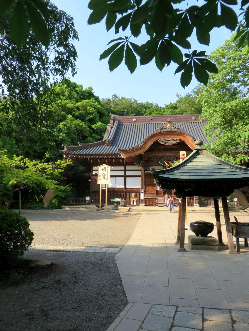Jindaiji Temple textures