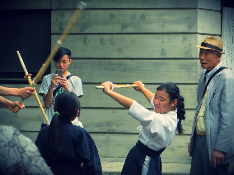 Kendo girl Japan Tokyo