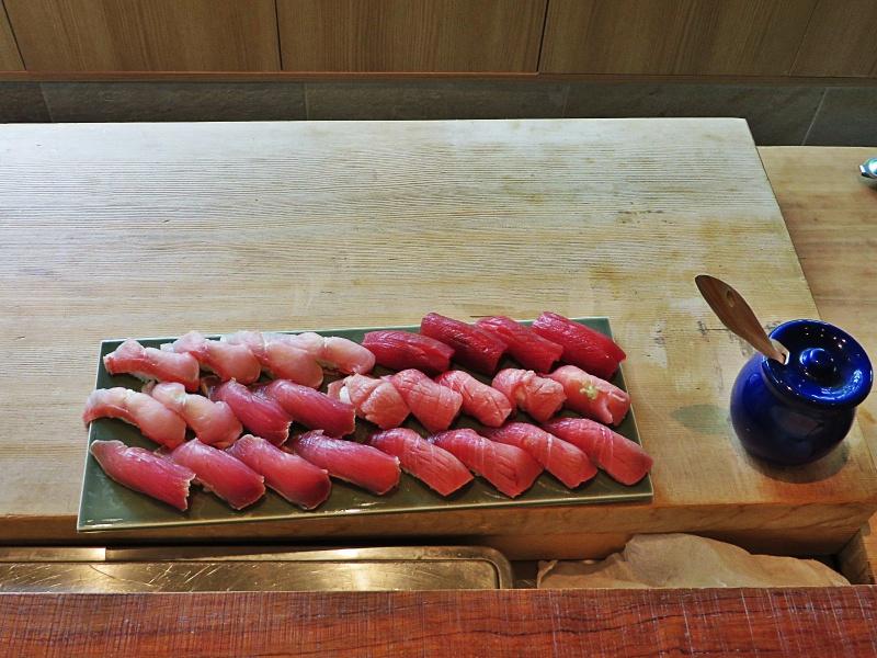 Maguro sushi Tokyo