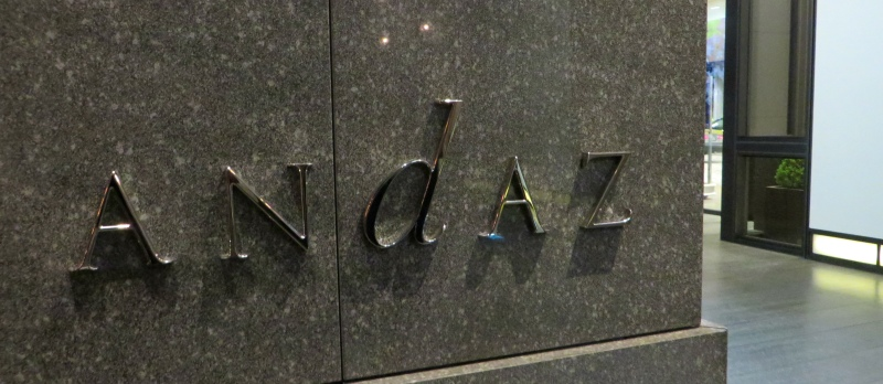 Andaz sign