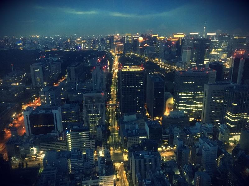 Andaz Tavern Tokyo night view