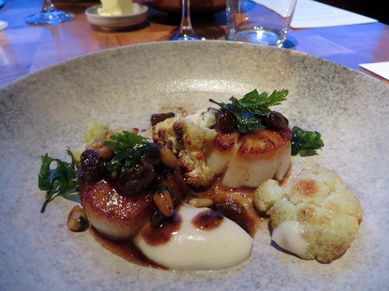 Andaz Tavern Tokyo scallops