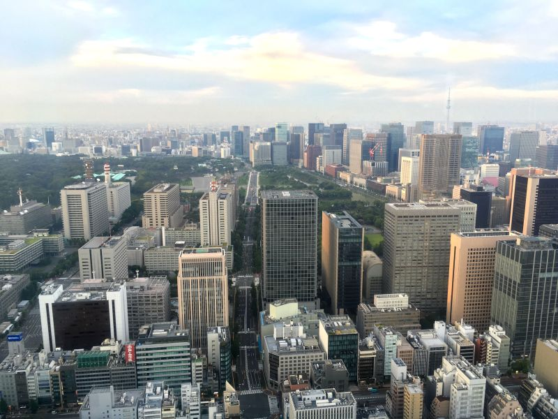 Andaz Tavern Tokyo view