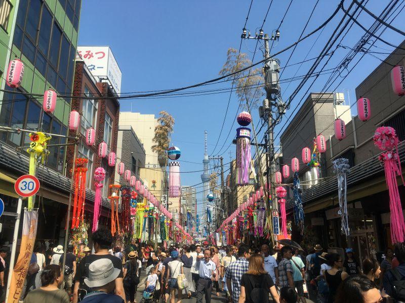 Kappabashi Shitamachi Tanabata Matsuri 8