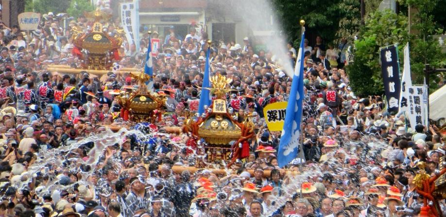 Grand Festival of Tomioka Hachiman-gu Shrine 5