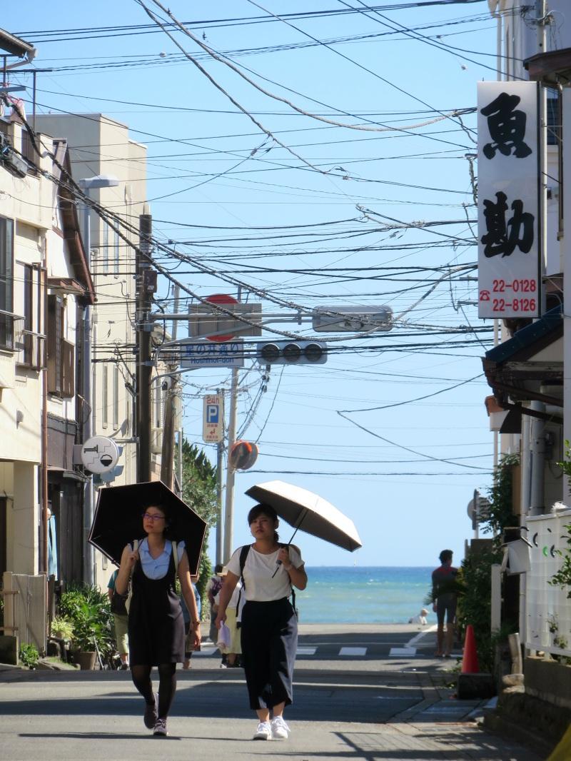Hase Kamakura sea street view