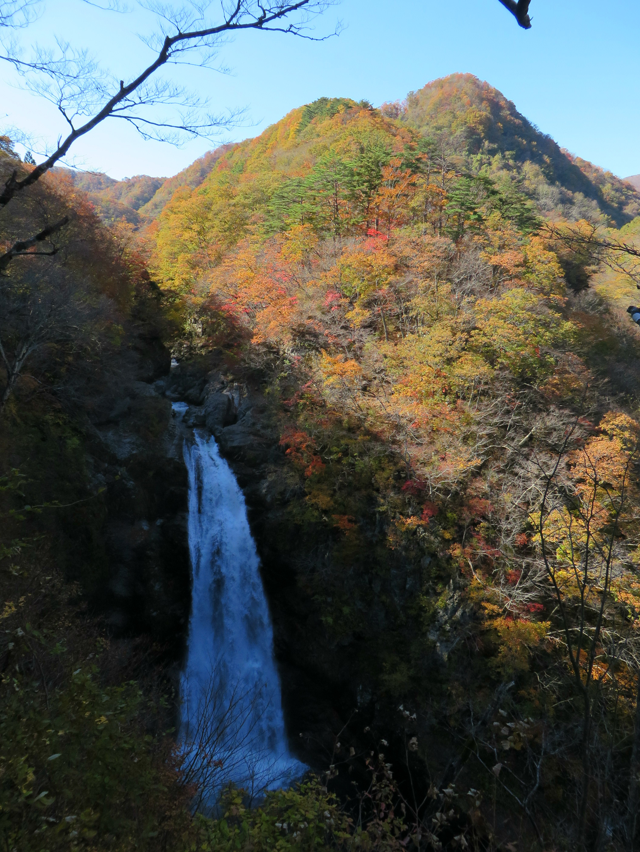 Autumn Colours at Akiu Great Falls, Miyagi / 宮城県の秋保大滝の紅葉