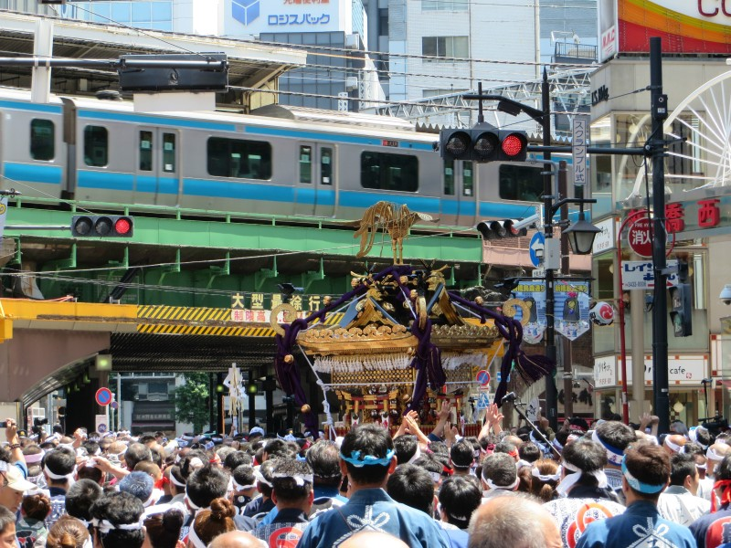 Karasumori Inari Shrine Grand Festival 2018